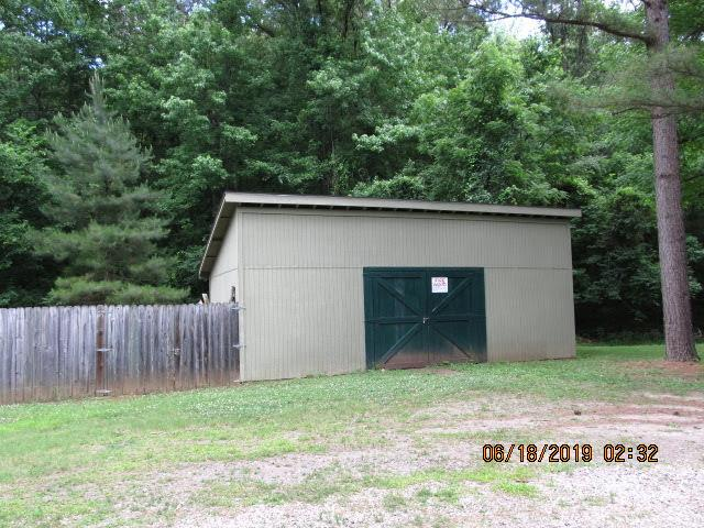 wood shed at TBC